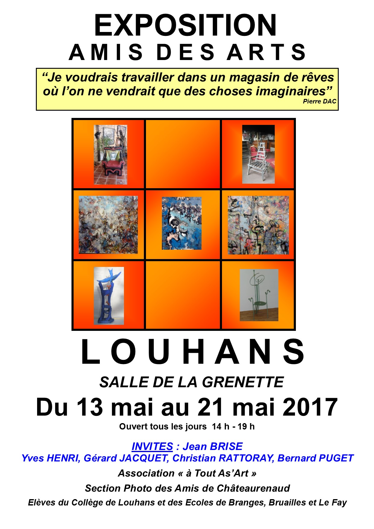 affiche expo 1 2017